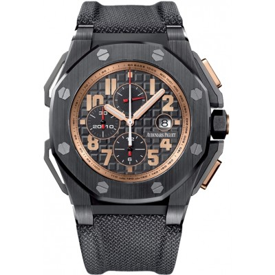 Captain Replica Watch - Audemars Piguet Royal Oak Offshore Chronograph ARNOLD SCHWARZENEGGER THE LEGACY 26378IO.OO.A001KE.01