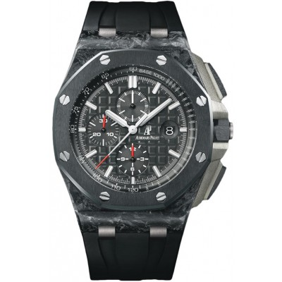 Captain Replica Watch - Audemars Piguet Royal Oak Offshore Chronograph Forged Carbon 26400AU.OO.A002CA.01