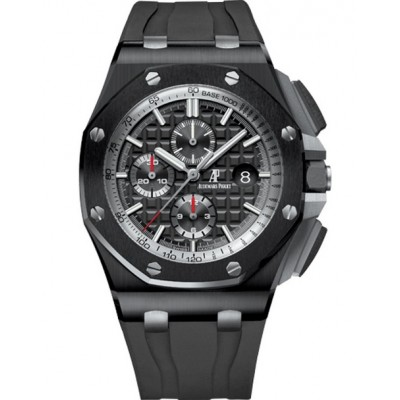 Captain Replica Watch - Audemars Piguet Royal Oak Offshore Chronograph Black Ceramic 26405CE.OO.A002CA.01