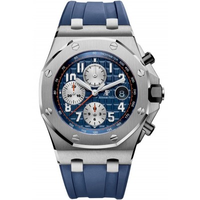 Captain Replica Watch - Audemars Piguet Royal Oak Offshore Chronograph Blue 26470ST.OO.A027CA.01