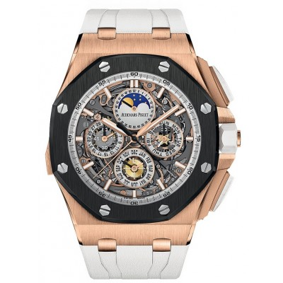 Captain Replica Watch - Audemars Piguet Royal Oak Offshore Grand Complications Rose Gold 26571RO.OO.A010CA.01