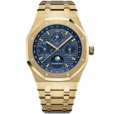 Replica Audemars Piguet Royal Oak Perpetual Calendar Yellow Gold 26574BA.OO.1220BA.01
