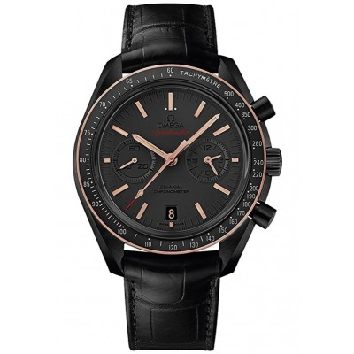 Captain Replica Watch - Omega Speedmaster Dark Side of the Moon Sedna Black Moonwatch 311.63.44.51.06.001