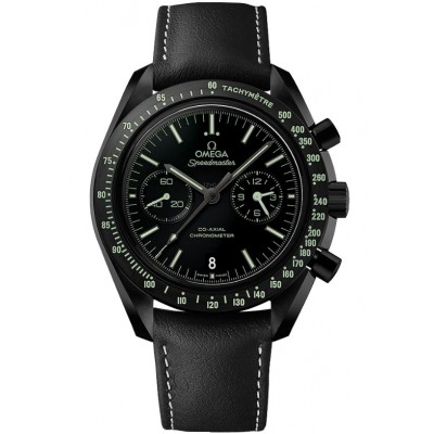 Captain Replica Watch - Omega Speedmaster Dark Side of the Moon Pitch Black Moonwatch 311.92.44.51.01.004
