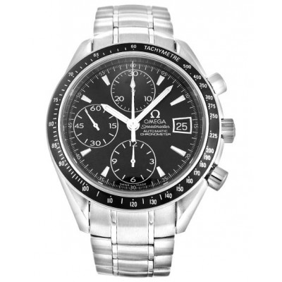 Captain Replica Watch - Omega Speedmaster Date 40mm Stainless Steel Chronograph 3210.50.00