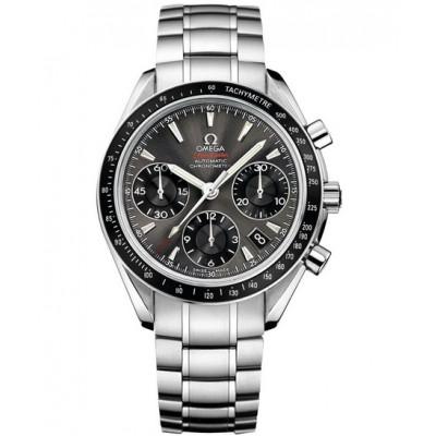 Captain Replica Watch - Omega Speedmaster Date Stainless Steel Grey Dial Chronograph 323.30.40.40.06.001