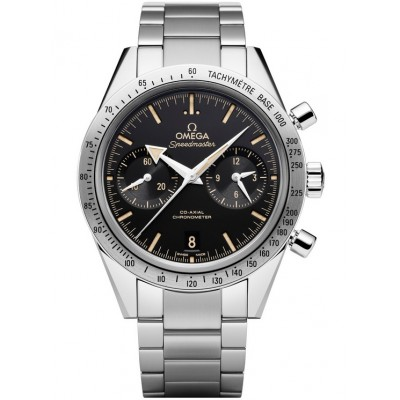 Captain Replica Watch - Omega Speedmaster 57 Chronograph Broad Arrow Stainless Steel 331.10.42.51.01.002