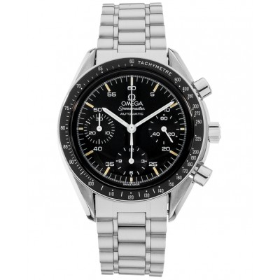 Captain Replica Watch - Omega Speedmaster Reduced Stainless Steel Chronograph 3510.50.00