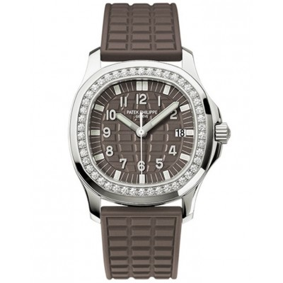 Captain Replica Watch - Patek Philippe Aquanaut Steel Diamonds 5067A-023