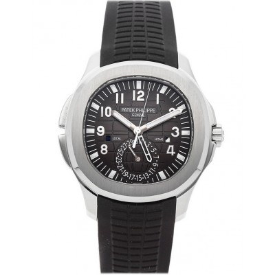 Captain Replica Watch - Patek Philippe Aquanaut Travel Time Steel 5164A-001
