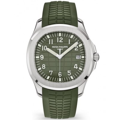 Captain Replica Watch - Patek Philippe Aquanaut Green 5168G-010