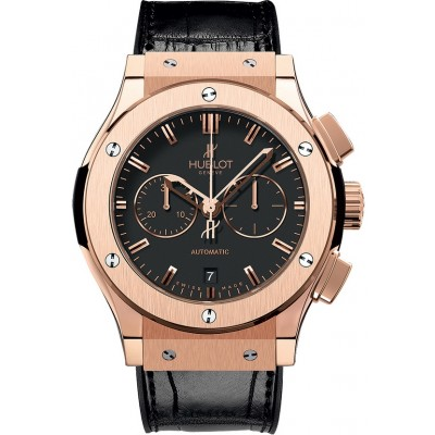 Captain Replica Watch - Hublot Classic Fusion Chronograph 42mm Rose Gold 541.OX.1180.LR