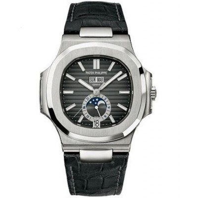 Captain Replica Watch - Patek Philippe Nautilus Annual Calendar Moon Phase 5726A-001