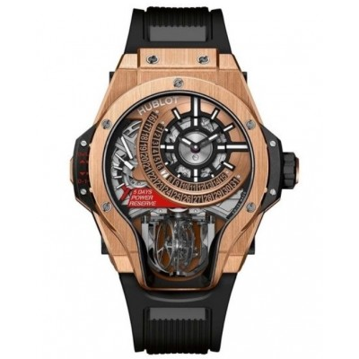 Replica Hublot MP-09 Tourbillon Bi-Axis King Gold 909.OX.1120.RX