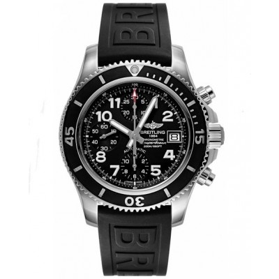 Captain Replica Watch - Breitling Superocean Chronograph 42 Steel Black A13311C9/BE93-150S