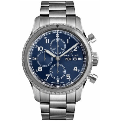 Captain Replica Watch - Breitling Navitimer 8 Chronograph Blue Dial A13314101C1A1