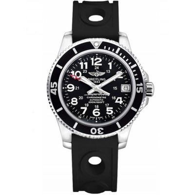 Captain Replica Watch - Breitling Superocean II 36 Black Dial A17312C9/BD91-231S