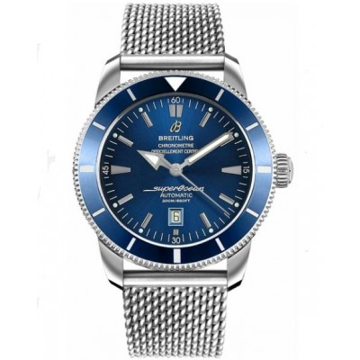 Captain Replica Watch - Breitling Superocean Heritage 46 Blue Dial Steel A1732016/C734-152A