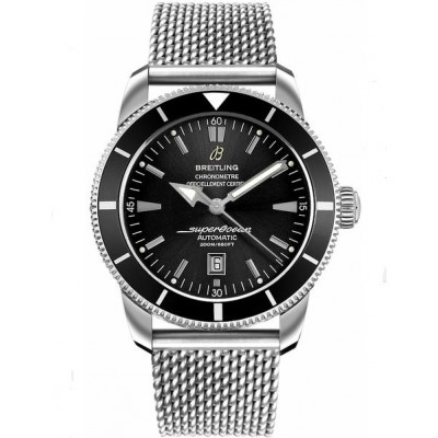 Captain Replica Watch - Breitling Superocean Heritage 46 Black Dial Steel A1732024/B868-152A