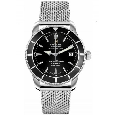 Captain Replica Watch - Breitling Superocean Heritage 42 Steel Volcano Black A1732124/BA61