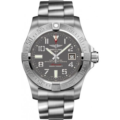 Captain Replica Watch - Breitling Avenger II Seawolf Steel Gray Dial A1733110/F563/169A