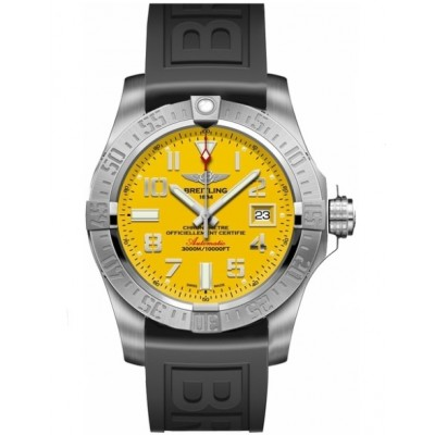 Captain Replica Watch - Breitling Avenger II Seawolf Yellow Arabic Dial A1733110/I519/152S