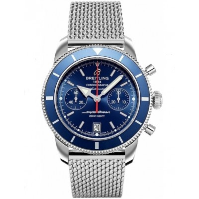 Captain Replica Watch - Breitling Superocean Heritage Chronograph 44 Gun Blue A2337016/C856