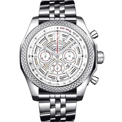 Captain Replica Watch - Breitling Bentley Barnato 42 Silver Skeleton Dial A4139021/G795