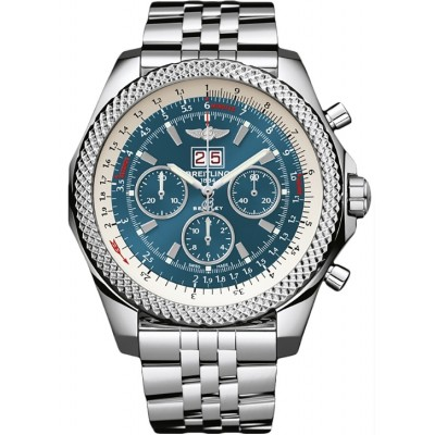 Captain Replica Watch - Breitling Bentley 6.75 Neptune Blue Dial A4436412/C786