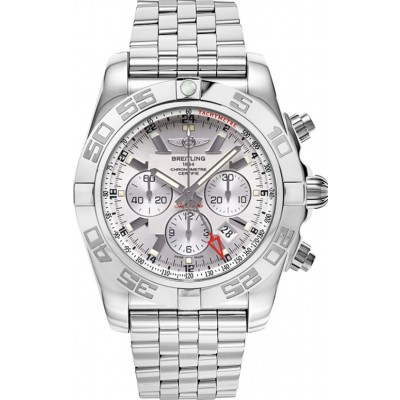 Captain Replica Watch - Breitling Chronomat GMT Steel Silver Dial AB041012/G719