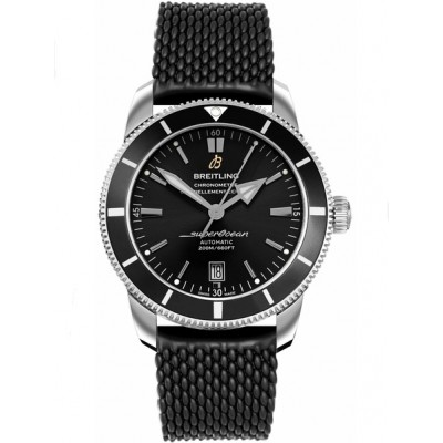 Captain Replica Watch - Breitling Superocean Heritage II 42 Steel Black AB201012/BF73