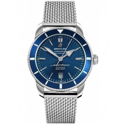 Captain Replica Watch - Breitling Superocean Heritage II 42 Steel Blue AB201016/C960