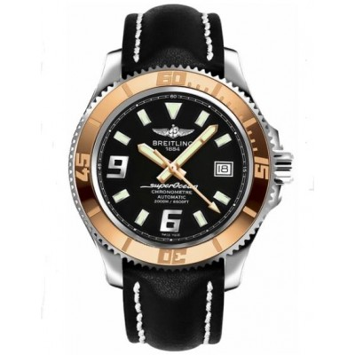 Captain Replica Watch - Breitling Superocean 44 Rose Gold Bezel C1739112/BA77-435X