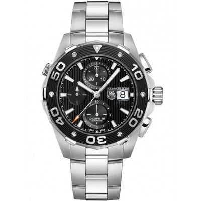 Captain Replica Watch - TAG Heuer Aquaracer 500M Chronograph Calibre 16 Black Dial CAJ2110.BA0872