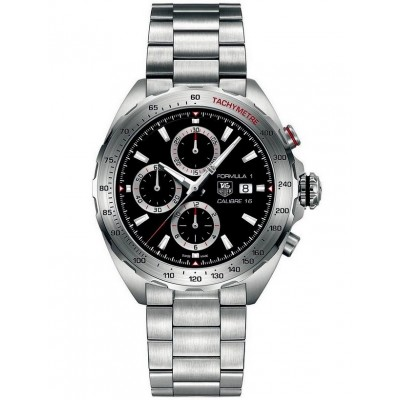Captain Replica Watch - TAG Heuer Formula 1 Calibre 16 Steel Chronograph CAZ2010.BA0876