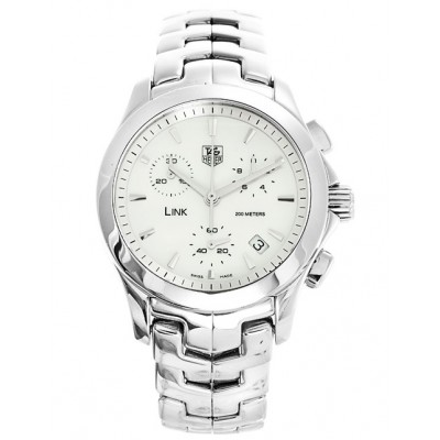 Captain Replica Watch - TAG Heuer Link Chronograph Mother of Pearl For Women CJF1310.BA0580