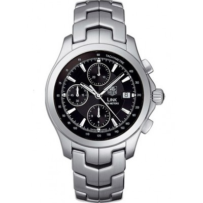 Captain Replica Watch - TAG Heuer Link Chronograph 42mm Black Dial CJF2110.BA0594