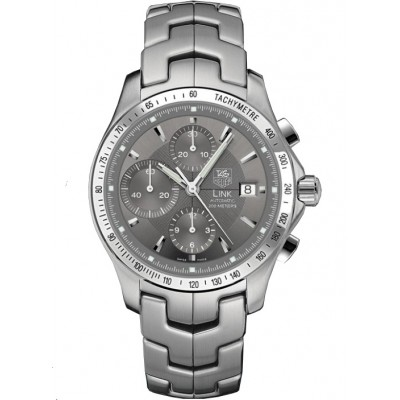 Captain Replica Watch - TAG Heuer Link Chronograph Grey Dial CJF2115.BA0594