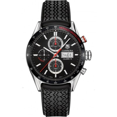 Captain Replica Watch - TAG Heuer Carrera Calibre 16 Monaco Grand Prix Edition Chronograph CV2A1F.FT6033