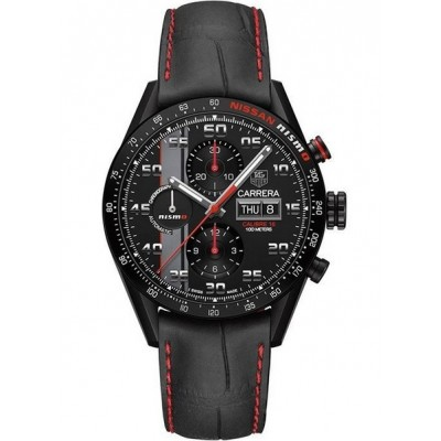 Captain Replica Watch - TAG Heuer Carrera Calibre 16 Day Date Nismo Chronograph CV2A82.FC6237