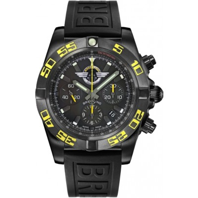 Captain Replica Watch - Breitling Chronomat 44 Blacksteel Jet Team America MB01109P/BD48/153S