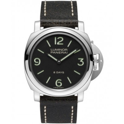 Captain Replica Watch - Panerai Luminor Base 8 Days 44mm Black Dial PAM00560