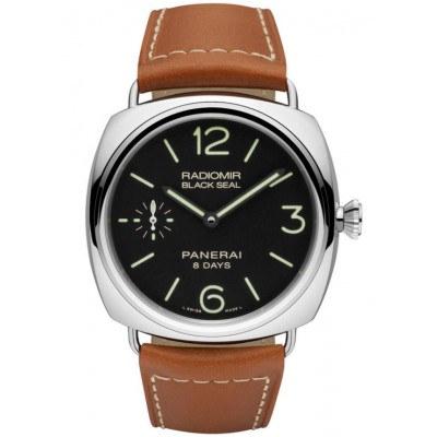 Captain Replica Watch - Panerai Radiomir Black Seal 8 Days Acciaio 45mm PAM00609