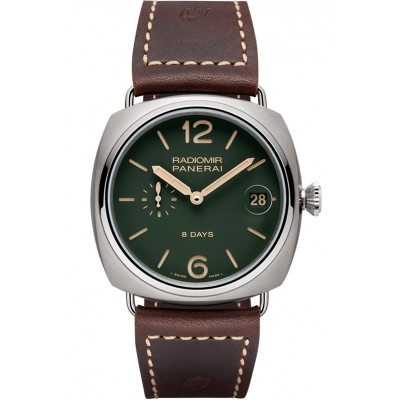 Captain Replica Watch - Panerai Radiomir 8 Days Titanio Green 45mm PAM00735