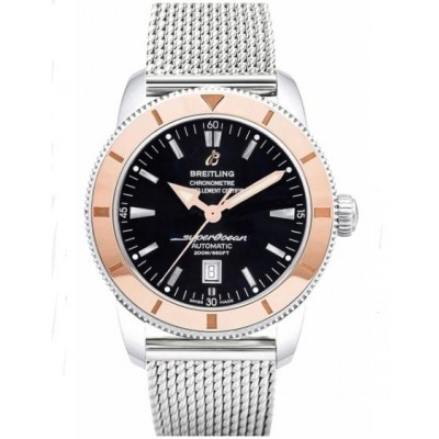 Captain Replica Watch - Breitling Superocean Heritage 46 Rose Gold Bezel Steel U1732012/B868-152A