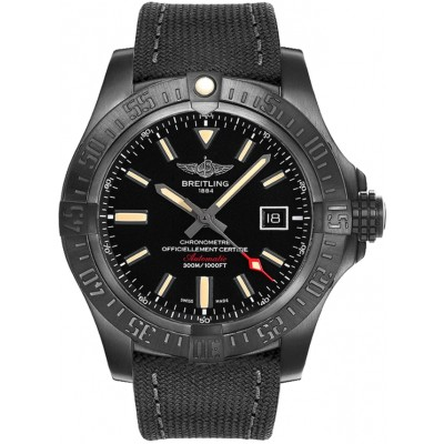 Captain Replica Watch - Breitling Avenger Blackbird Black Titanium V1731010/BD12/100W