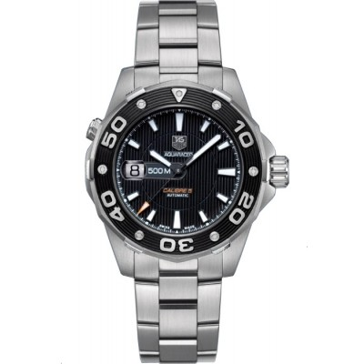 Captain Replica Watch - TAG Heuer Aquaracer 500M Calibre 5 Black Dial WAJ2110.BA0870