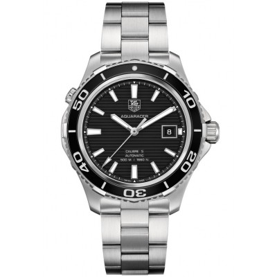 Captain Replica Watch - TAG Heuer Aquaracer Calibre 5 500M Black Dial WAK2110.BA0830
