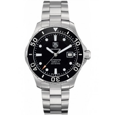 Captain Replica Watch - TAG Heuer Aquaracer Calibre 5 300M Black Dial WAN2110.BA0822