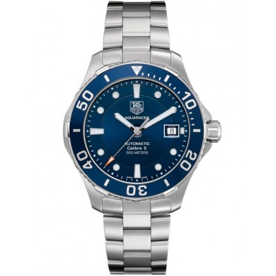 Captain Replica Watch - TAG Heuer Aquaracer Calibre 5 300M Blue Dial WAN2111.BA0822